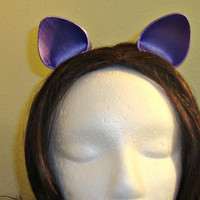 Purple My Little Pony Luna Cat Cosplay Ears