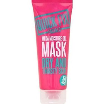 Quick Fix Facials Mega Moisture Gel Mask 100Ml
