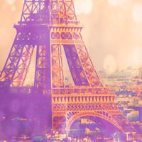 Paris is a Feeling - dreamy Paris decor, girly, Eiffel Tower photo, travel photography, for her, France photograph