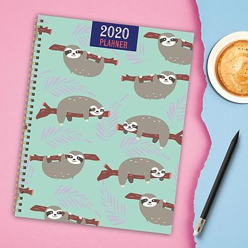 Happy Sloth Large Weekly/Monthly Planner