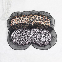 Pink Brown Permeable 925 Eyemask [9223112835]