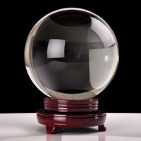 Large Crystal Ball, Gazing Sphere, Scrying Divining Tool Wicca Magical