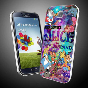 alice in wonderland in galaxy  for iPhone 4 / 4S / 5 Case Samsung Galaxy S3 / S4 Case