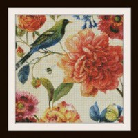 Spring In Paris Cross Stitch Pattern | Los Angeles Needlework