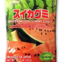Japanese Gummy Candy from Kasugai - Watermelon - 107g