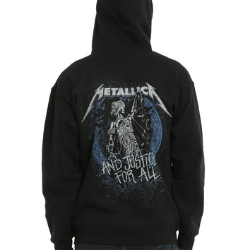 Metallica ...And Justice For All Hoodie