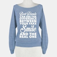 Best Friends Know The Real Smile