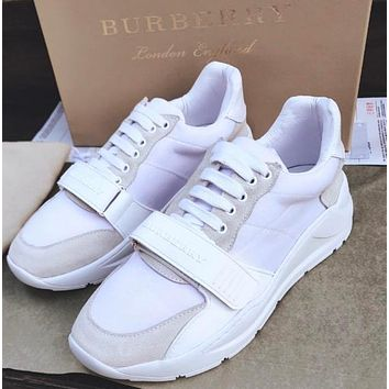 BURBERRY millimeter classic sports shoes-2