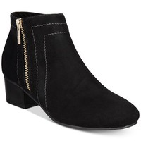 Charter Club Boniee Ankle Booties, Created for Macy's Shoes - Boots - Macy's