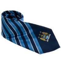 Manchester City Football Club Tie English Premier League new EPL MAN City soccer