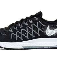 Nike Air Zoom Pegasus 32- Crystallized Swarovski Swoosh - Black/White