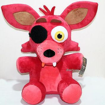 """Licensed cool Five Nights At Freddy's 20"""" Jumbo FOXY Plush Soft Toy Licensed Funko  SHIP"""