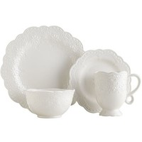 Lacy Dinnerware - White