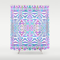 Mix #587 Shower Curtain by Ornaart