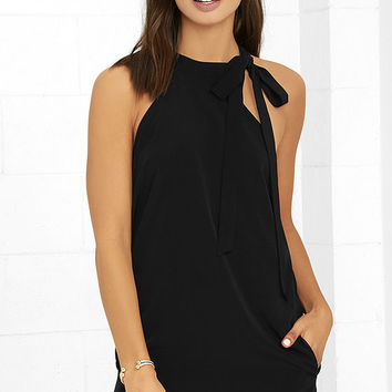 Mon Cheri Black Dress
