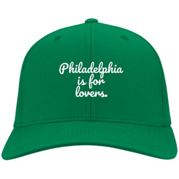 Philadelphia is For Lovers Embroidered Twill Cap