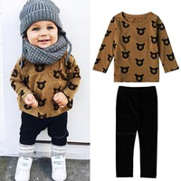 newborn little Kids boys clothes set Baby boy clothes fashion toddler baby clothing,toddler baby set Age 0-2 year DS26