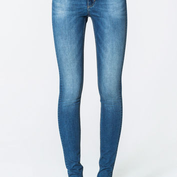 High Snap Pop Blue Jeans | view-all | Cheapmonday.com