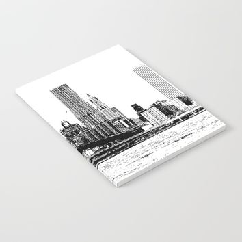 New York line Notebook by Claude Gariepy