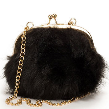 Fluffy Mini Bag, NLY Accessories