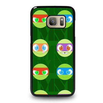 teenage mutant ninja turtles babies tmnt samsung galaxy s7 case cover  number 1