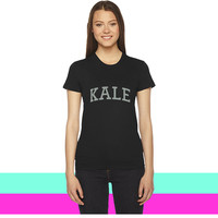 KALE VEGAN  VEGETARIAN women T-shirt