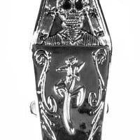 Day of the Dead Coffin Buckle  ON SALE: