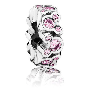 Disney Parks Minnie Mouse Spacer Charm by Pandora Jewerly Charm New