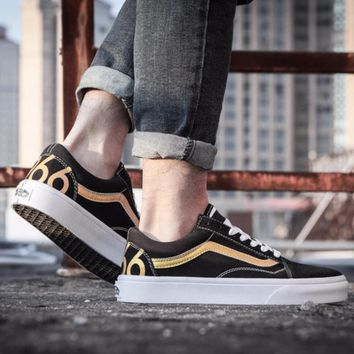 kuyou Vans 1966 Old Skool  Black/Gold