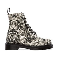 Dr. Martens Beckett 8-Eye Boot in Gray