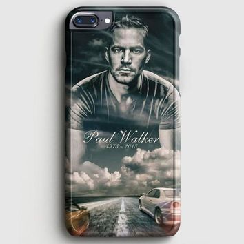 Paul Walker Fast And Furious iPhone 8 Plus Case | casescraft