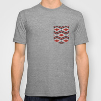 Navajo red T-shirt by spinL