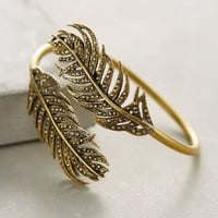 Of A Feather Bracelet by Alkemie Gold One Size Bracelets