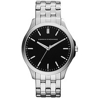 AX Armani Exchange Stainless Steel 3-Hand Watch - Silver