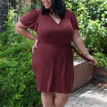 Whitney Nursing Wrap Dress