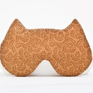 Cat Sleep Mask. Gift Valentine's Day