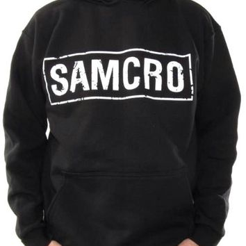 Sons Of Anarchy Pullover Hoodie - Samcro Black