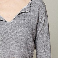 Solow Sport  French Terry Cropped Pullover at Free People Clothing Boutique