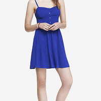 CAMI SUNDRESS - BLUE from EXPRESS
