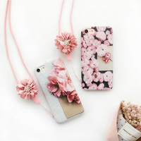 Blossom Cherry Flowers 3D Phone Case