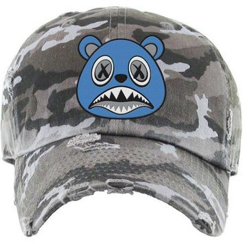 UNC BAWS Black Camo Dad Hat