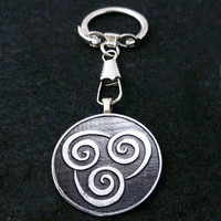Avatar Air Bender Keychain by boxinghobo on Etsy