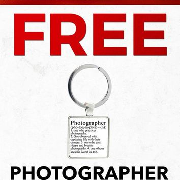 Christmas 2018 SC329 Photographer Definition Key Chain Gift With Purchase