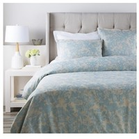Clara Blue Floral Duvet Bedding Collection