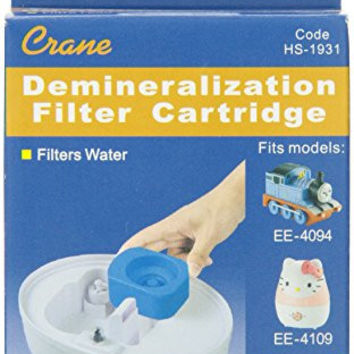 Crane Demineralization Filter Cartridge for Crane Spongebob, Hello Kitty and Thomas the Tank Cool Mist Humidifiers