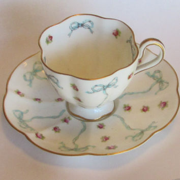 Vintage George Jones & Sons Demitasse and Saucer