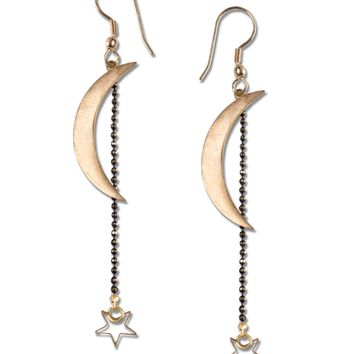 NEW! Crescent Moon Earrings