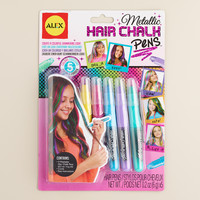Metallic Hair Chalk Pens - World Market