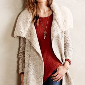 Bondurant Sherpa Cardigan by Sleeping on Snow