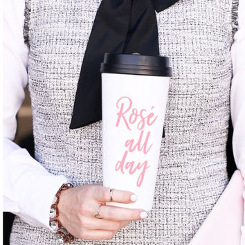 Rose' Travel Mug